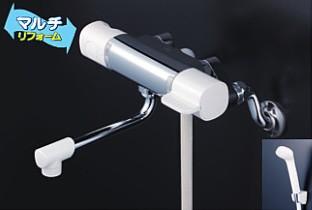 KVK 水栓金具【FTB100KTKR2】浴室用水栓 取替用サーモスタット式シャワー