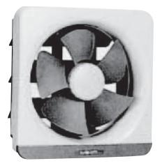 高須産業 台所・一般用換気扇電気式シャッター 排気【FTK-250ES】