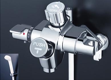 KVK 水栓金具【KF3040NSV】浴室用水栓 自閉式サーモスタットシャワー