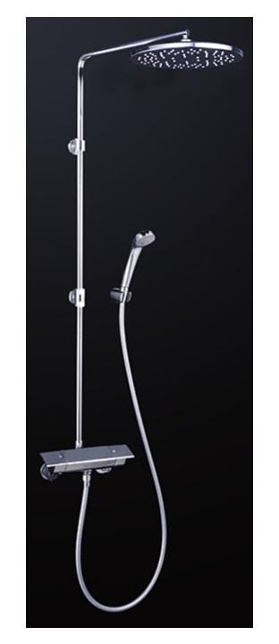 KVK 水栓金具【KF3120W】浴室用水栓 オーバーヘッドシャワー付サーモ ※寒冷地用