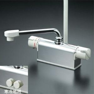 KVK水栓金具【KF771ZYR2】 サーモスタット混合水栓 寒冷地用
