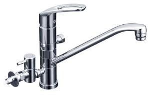 KVK 水栓金具【KM5041ZCTTU2】シングルレバー式混合栓(寒冷地用)