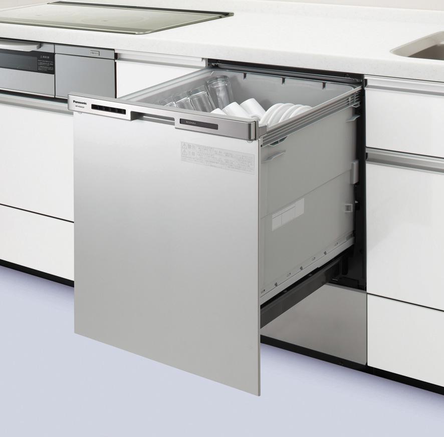 ∬∬パナソニック【新品番NP-45MC6T】(旧品番NP-45MC5T)FULLオープン 買い替え専用モデルディープタイプ ドアパネル一体型 幅45cmタイプ