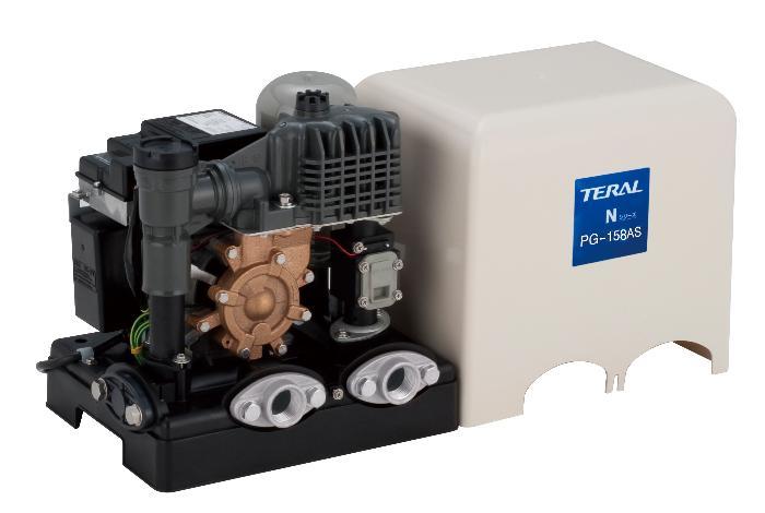 テラル浅井戸用定圧給水式ポンプ 50Hz【PG-258AS-5】250W 単相100V