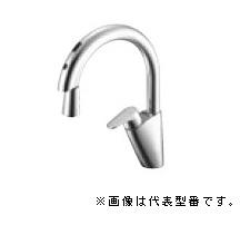 三栄水栓/SANEI 水栓金具【EK870E-13】ホース引出し式 シングル混合栓(センサー式)