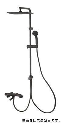 三栄水栓/SANEI 水栓金具【SK18520-2S4-MDP-13】サーモシャワー混合栓URBANTOWER マットブラック
