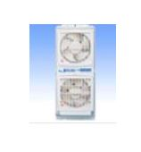 高須産業【FMT-200P】ウィンドウ・ツインファン(引きヒモタイプ)窓用換気扇