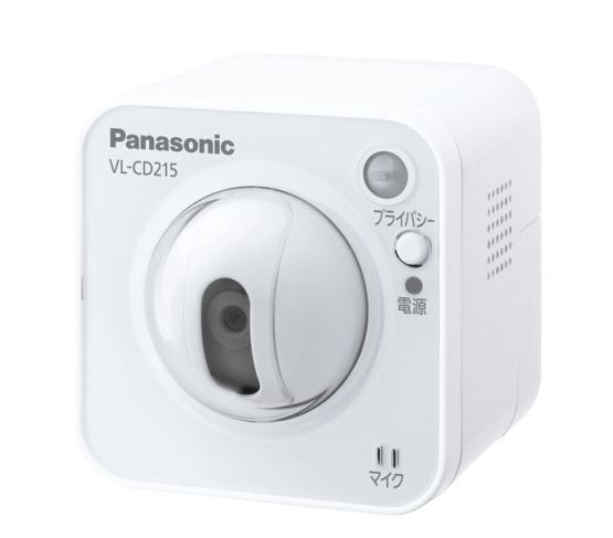 パナソニック システムアップ別売品【VL-CD215】センサーカメラ 屋内タイプ