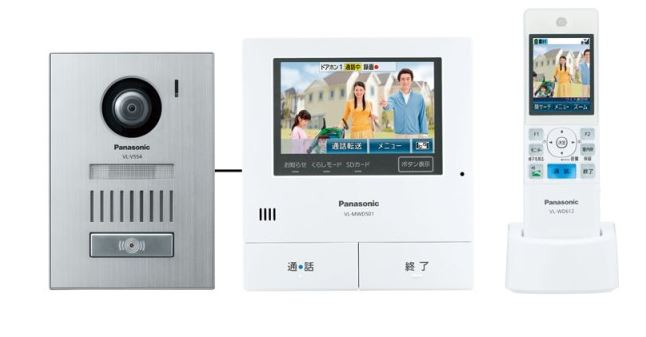 パナソニック どこでもドアホン【VL-SWD501KS】ワイアレスモニター付 テレビドアホン 2-7タイプ