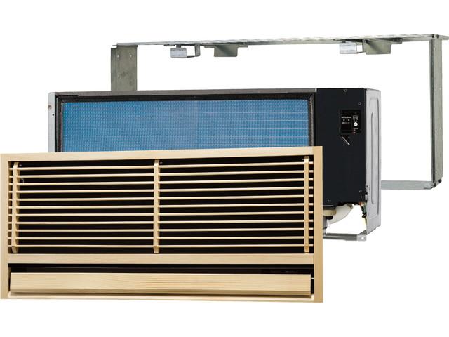 ###三菱 ハウジングエアコン【MTZ-2517AS-IN】(システムマルチ 室内ユニット)前面グリル・据付枠付 壁埋込形 主に8畳 (旧品番 MTZ-255AS-IN)