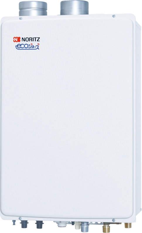 ###♪ノーリツ ガスふろ給湯器【GT-C2052SAWX-SFF-2 BL】設置フリー形 シンプル(オート) 屋内壁掛/強制給排気形 ユコアGT エコジョーズ 20号