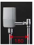 TOTO 大便器自動洗浄システム【TEVN30UC】オートクリーンC(露出タイプ) コンビネーションタイプ AC100V 人体感知センサーなし 床給水 標準品