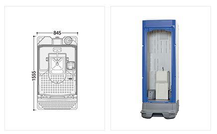 ###u.ハマネツ【TU-iXF4M-SA】TU-iXシリーズ ポンプ式簡易水洗タイプ 手洗器 受注約1ヵ月