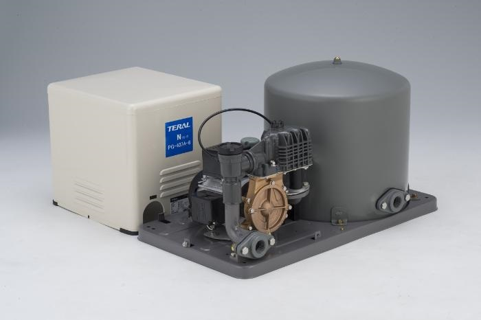 テラル浅井戸用圧力タンク式PG-A形ポンプ【PG-407AM-5】三相200V400W50Hz