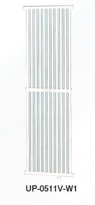 ###コロナ パネルコンベクター【UP-0511V-W1】壁掛縦形仕様 (旧品番 UP-0511V-W)
