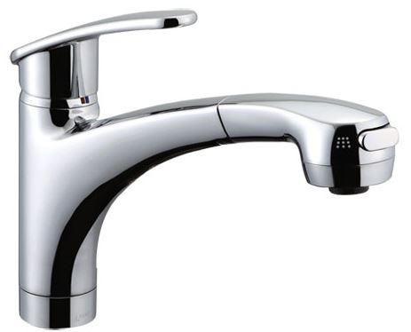 πINAX 吐水口引出式(ハンドシャワー付)水栓【SF-A451SYXNU】アウゼ(エコハンドル) 寒冷地仕様