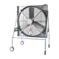 ###三菱(ソーワテクニカ製) 60Hz【KH-100ETFG-60GSW】農事用送風機 羽根径100cm 床置きタイプ 電源スイッチ付