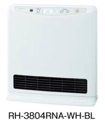 ###ノーリツ【RH-3804RNA-WH-BL】(シルキーホワイト) 温水式ルームヒーター フィーリングホット (旧品番 RH-3804RN-WH-BL)