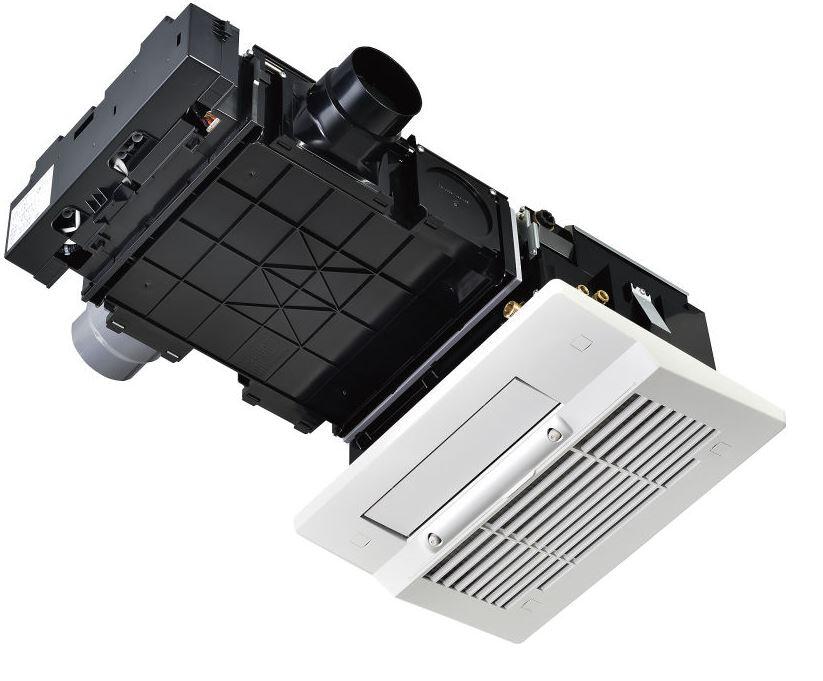 リンナイ【RBHM-C339K2P】浴室暖房乾燥機 天井埋込型 開口コンパクトタイプ 2室換気対応 ミスト機能搭載