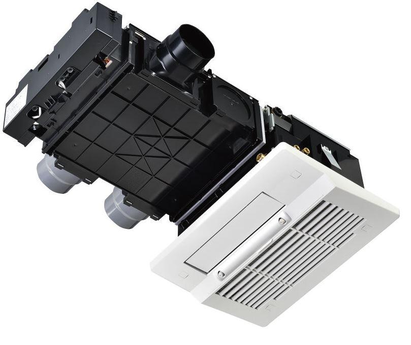リンナイ【RBHM-C339K3P】浴室暖房乾燥機 天井埋込型 開口コンパクトタイプ 3室換気対応 ミスト機能搭載