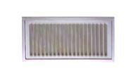 高須産業【UK-YM2040-SO】床下換気孔 ステンレス製 網無し 受注単位10枚