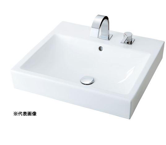 INAX/LIXIL 角形洗面器 床給水 ベッセル式【YL-A536JYD(C)】(スクエアタイプ) シングルレバー混合水栓セパレートタイプ 角形洗面器 壁排水(Pトラップ) INAX/LIXIL 床給水, インテリアマイハウス:fd23aa99 --- sunward.msk.ru