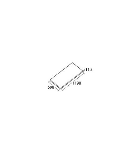 ###TOTO【AB612E】ハイドロセラ・フロアPC 600×1200角 平 厚み11.3mm 排水穴なし