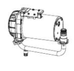 ▽INAX/LIXIL【CWA-282】低流動圧ブースター(後付用)