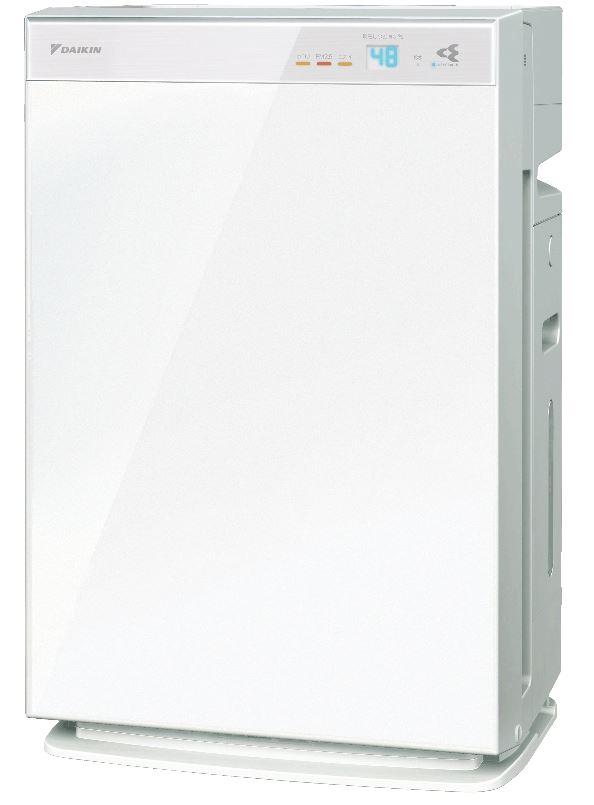 ###ダイキン 加湿ストリーマ空気清浄機【ACK70V-W】(ホワイト) 床置形 ダブル方式