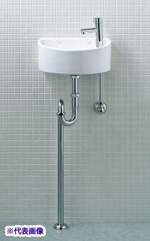 INAX/LIXIL【AWL-33(S)】狭小手洗器 手洗タイプ(丸形) ハイパーキラミック 床排水(Sトラップ) 壁給水 一般地・寒冷地共用