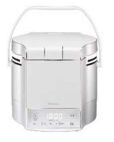 ###ψパロマ ガス炊飯器【PR-M18TV】マイコン電子ジャー付 炊きわざ プレミアムシルバー×アイボリー 1.8L・10合