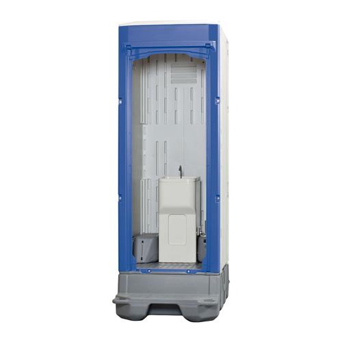 ###u.ハマネツ【TU-iXF4M-SA】TU-iXシリーズ スマートアタッチ機構 ポンプ式簡易水洗タイプ 手洗器 排水タンク330L 給水タンク60L 受注約1ヵ月