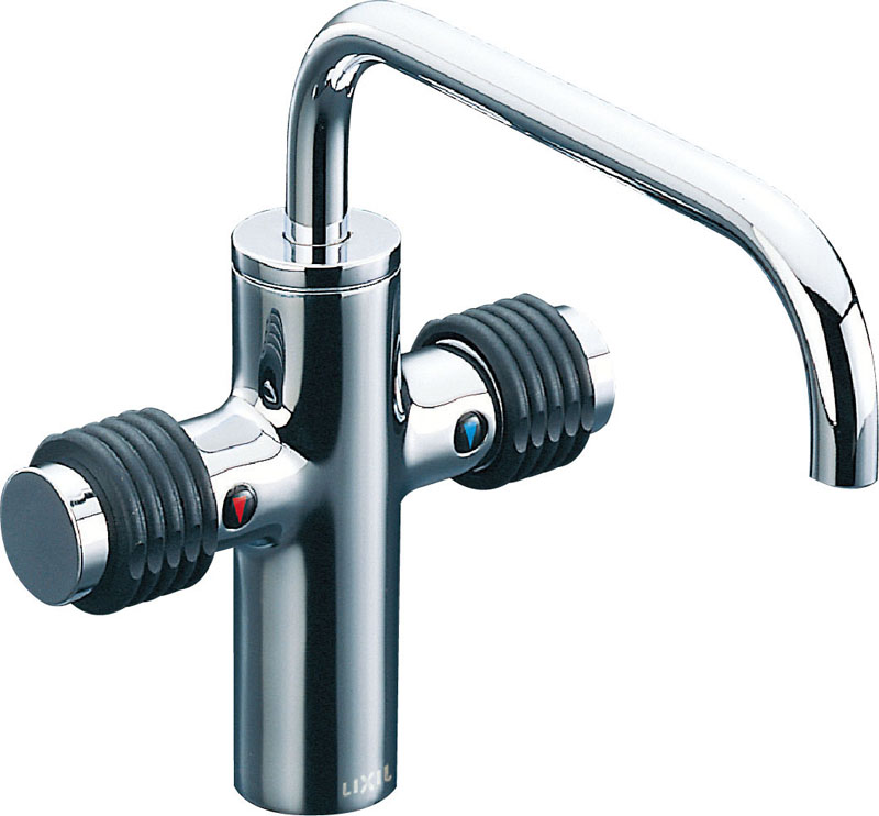 πINAX 水栓金具【LF-740】2ハンドル混合水栓 カウンター取付専用タイプ