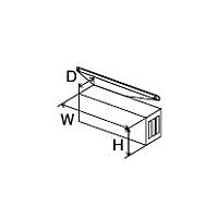 ###♪パーパス 給湯器 部材【HY-4569】排気カバー(横出し排気)
