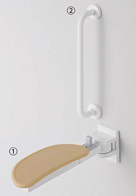 TOTO 前方ボード(スイングタイプ/I型手すりセット)【EWCS740】立ち座り・座位保持用