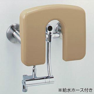 TOTO バリアフリー器具【EWCS802AR】パウチ・しびん洗浄水栓付背もたれ(ハードタイプ) (旧品番 EWCS802A)