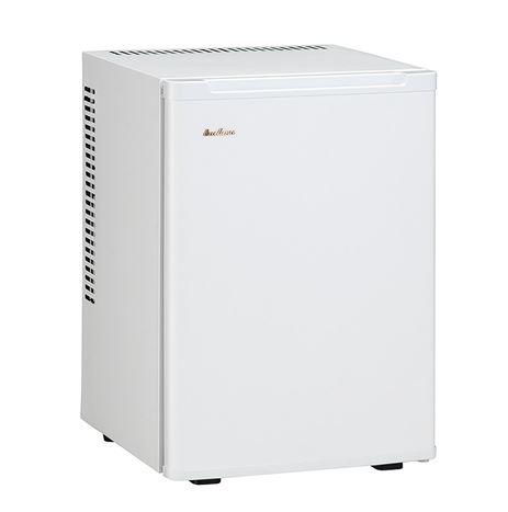 ###ω三ツ星貿易【ML-640W】(ホワイト)寝室用冷蔵庫 (客室用冷蔵庫) ペルチェ式 容量40L