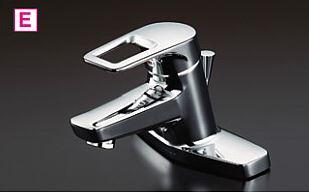###TOTO ユーティリティ用水栓金具【TL430Z】寒冷地 洗面所用 シングルレバー混合栓(湯側角度規制) 受注2週