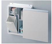 TOTO トイレ オプション【UGA431RS】収納キャビネット 足元収納コンパクトタイプ(埋込あり) スリムタイプC専用 Rタイプ