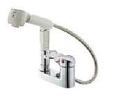 『カード対応OK!』π三栄水栓/SANEI 水栓金具【K37100K-13】寒冷地 シングルスプレー混合栓