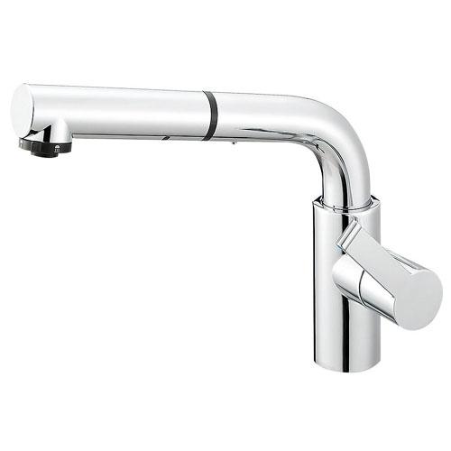 ∬∬π三栄水栓/SANEI 水栓金具【K87520JV-13#C】シングルワンホールスプレー混合栓