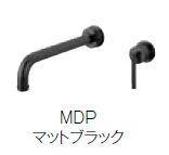 ≧≧三栄水栓/SANEI 水栓金具【K4745V-MDP-13】シングル洗面混合栓 (壁出しはさみ込みタイプ) マットブラック