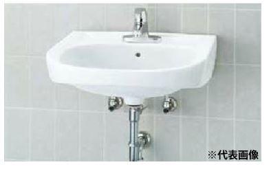 ▽INAX/LIXIL 洗面器セット【L-176UEC】そで無大形洗面器(壁付式) シングルレバー混合水栓(エコハンドル) LF-B350SY 壁給水・壁排水(Pトラップ)