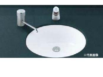 ▽INAX/LIXIL 洗面器【L-2291】はめ込みだ円形洗面器(アンダーカウンター式) 洗面器本体のみ