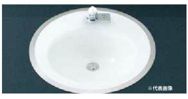 ▽INAX/LIXIL 洗面器セット【L-2584FC】はめ込み円形洗面器(フレーム式) 手動スイッチ付自動水栓 AC100V仕様 AM-201V1 壁給水・床排水(Sトラップ)