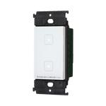 パナソニック 配線器具【WTY5332W】(マットホワイト) アドバンスシリーズ (タッチ) ダブルスイッチ(お好み点灯<適合LED専用1.6A>、入/切) (受信器)