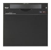 ##リンナイ 食器洗い乾燥機【RKW-C401C(A)】幅45cm 奥行60cm スライドオープンタイプ ブラックフェイス