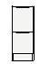 ###クリナップ S(エス) トールキャビネット(下台)【SRTFH30BSN】オークナチュラル(木目) 引出タイプ スタンダードカラー