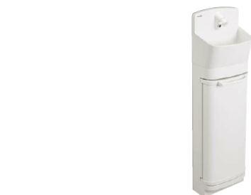 パナソニック アラウーノ手洗い 【GHA8FC2JAS】手洗いラウンドタイプ キャビネット 壁給水床排水 自動水栓