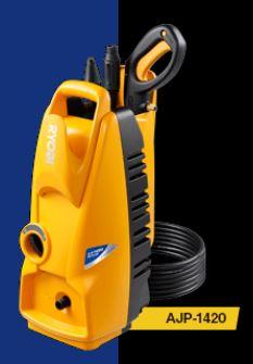 『カード対応OK!』リョービ/RYOBI 高圧洗浄機【AJP-1420】高圧ホース6m付 電源コード5m